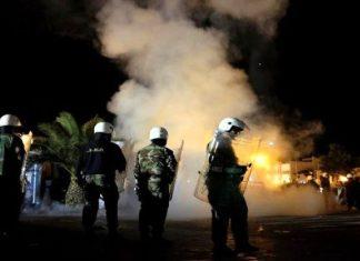 """Έκαψαν τη Μόρια κατέλαβαν την ΔΕΗ οι λαθροεισβολείς στην Μυτιλήνη ΕΤΟΙΜΟΙ ΝΑ """"ΠΑΡΟΥΝ"""" ΤΟ ΝΗΣΙ ΚΑΙ ΑΡΧΙΣΑΝ ΤΙΣ ΑΟΠΛΕΣ ΣΤΡΑΤΙΩΤΙΚΕΣ ΑΣΚΗΣΕΙΣ"""