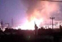 Διακοπές ρεύματος σε Αττική και Πελοπόννησο - Μεγάλη πυρκαγιά στο σταθμό Ασπροπύργου