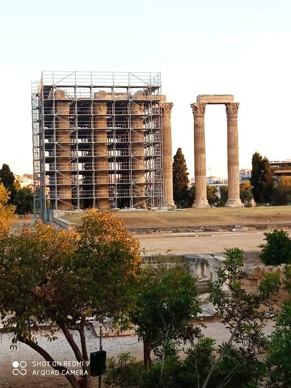 #Συντήρηση του #Ναού του #Ολυμπίου #Διός