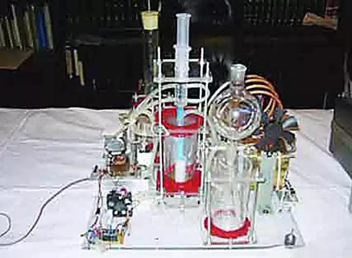 Στα …αζήτητα συσκευή που παράγει ρεύμα από σκέτο νερό
