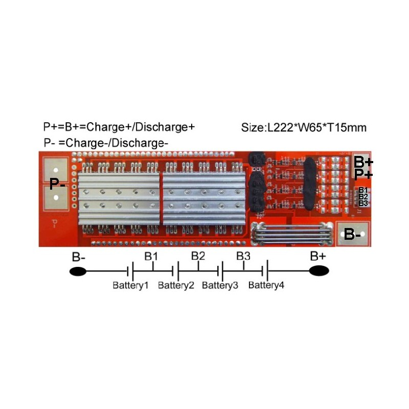View Large Photo Of Li Ion Battery Protection Circuit Module