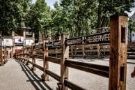 El Encierro - the Running of the Bulls - lasts just a moment – from 8.00 til 8.10