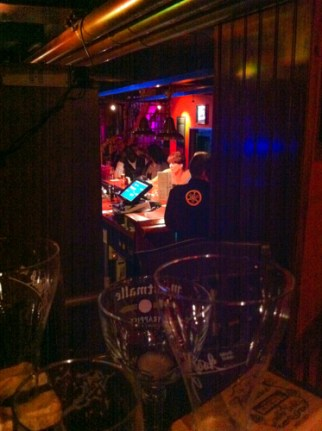 Les Brasseurs is a new microbrewery in a wonderful old building, the rooms are on displaced levels and on three floors