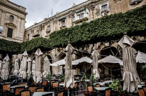 Republic Square in Valletta