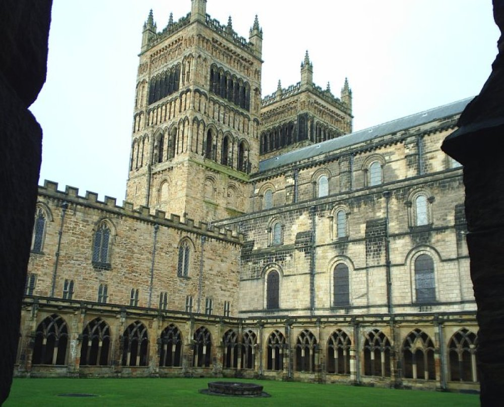 Harry Potter's Hogwarts at Durham Cathedral cloisters