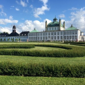This baroque castle is one of the Danish queen's most favourite