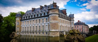 "Chateau de Beleoil is called ""Belgium's Versailles"" and is the most stately of the 5 castles we visited"