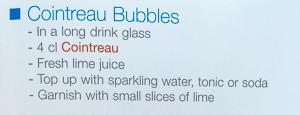 Cointreau Bubbles