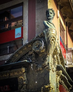 Figurehead of LeYa na Latina bookshop