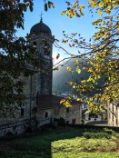 View from behind the church down to Leitza