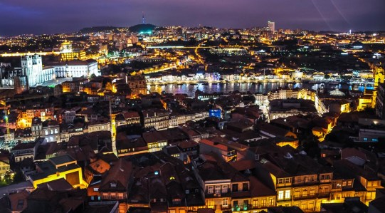Another view from one of our favourite lookout posts in Portugal: Mirador da Vitória