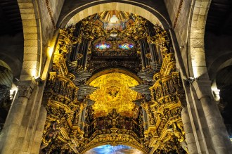 Stunning decorations in the cathedral of Braga