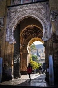 You can enter the courtyard and admire the doorways into here for free