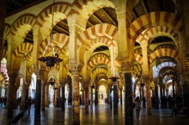 The intimate space of the Mezquita of Córdoba