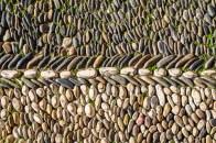 """Pebble Mosaic in the outdoor """"Patio de los Naranjos"""""""