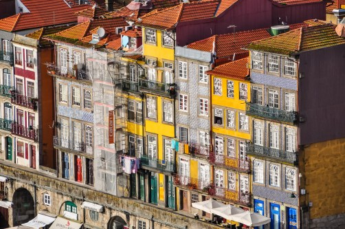 The south-facing Ribeira is always a lively place to watch the world go by