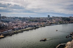 Vila Nova de Gaia is the city on the other side of the Douro river and home to all Port producers