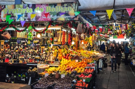 Mercado do Bolhao is the cheapest place to buy souvenirs, fish, fruits - and everything in between!