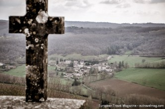 View from Puycelsi - easy to defend