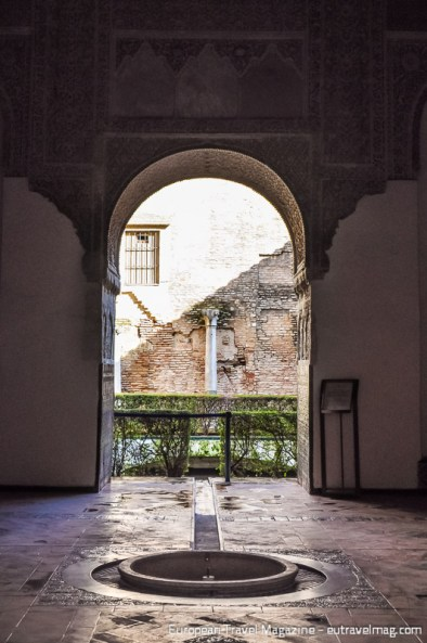 Palacio del Yeso is the oldest part of the Alcázar and the only part original Moorish
