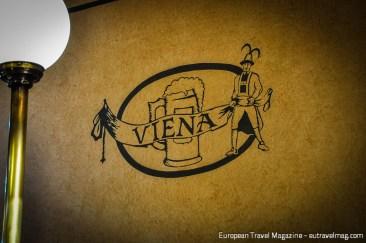 Art Nouveau style logo