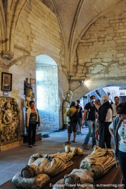 The Palais des Papes housed 9 different popes, before the papal seat went back to Rome