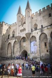 UNESCO World Heritage designated Palais des Papes