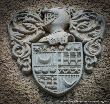 Detail of Coat of Arms from Carcasonne