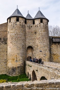 The thick walls of Carcassonne were of no use