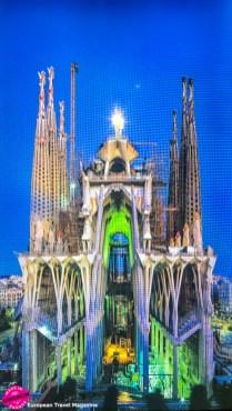 Construction of Sagrada Família