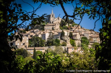 Bonnieux might try to hide its charms, but once you get past the trees, it's a delight