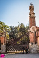 "The gatehouses have that special ""Gaudí touch"""