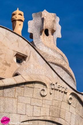 The chimneys look like sentinel knights keeping guard