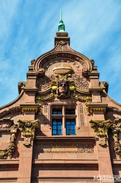 """The wonderful University Library in Art Nouveau style - or """"Jugendstil"""" as it's called in Germany"""
