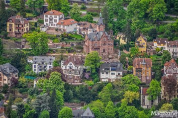 Many residential buildings are marvellous mini-castles