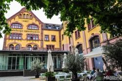 """The former buildings of """"Heidelberger Brauerei"""" in Bergheim"""