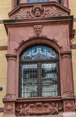 """Another Art Nouveau - or """"Jugendstil"""" detail"""