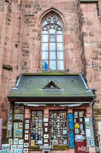 """Many shops are leaning to the """"Heiligengeistkirche"""""""