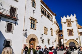 The Palau de Maricel together with Santiago Rusiñol's home and studio Cau Ferrat make up the cultural epicentre of stylish Sitges
