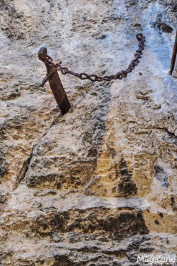 Folklore claims that Roland hurled the sword 268 kilometres to the north before it plunged into the rock of Rocamadour