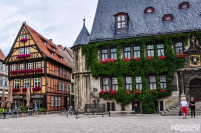 There are Roland status in many European cities, here in Quedlinburg in Germany