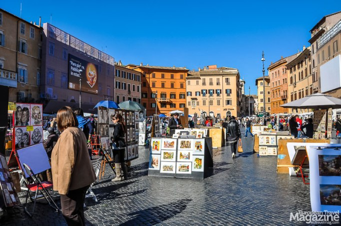"There's a good reason why market squares in Europe aren't called ""a square"". They rarely are."