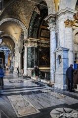 This is one of many churches in Rome that may not be a number one attraction but still contains artworks that would be the highlight of any other city
