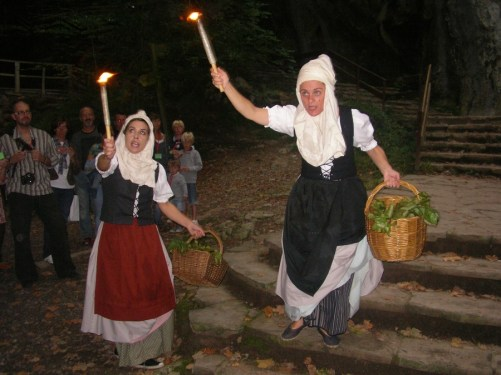 A young girl returning to Zugarramurdi after living several years in France claimed that she had participated in Akelarres (Witches' Sabbaths). Photo courtesy of pyreneanexperience.com