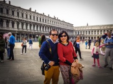 2. Pose for photos in St Mark's Square