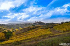 Already when you eye the first glimpses of San Gimignano, you realise its uniqueness
