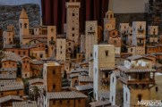 The San Gimignano model of its prime days in 1300 is stunning craftsmanship.