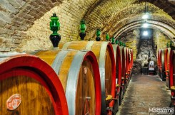 Wine cellars under the streets of Montepulciano