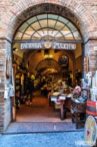 With all the enotecas and wine bars in the historical center of Montepulciano, you won't leave thirsty.. or you might not want to leave at all!
