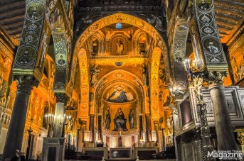 Cappella Palatina in the Norman Palace is the crowning piece of Palermo's Arab-Norman architecture